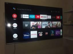 """TV 50' SEMP ANDROID, """"NOVA""""."""