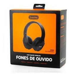 Fone Basike Bluetooth 5.0 Estéreo Original