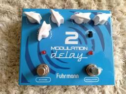 Pedal fuhrmann modulation delay c chorus p guitarra rexsom