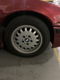 Jogo de roda com pneu BMW Aro 15