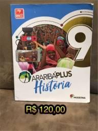 Livro - AraribáPlus História 9