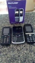 Vendo os tres telefone