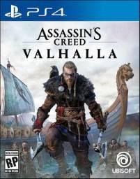 Assassin's Creed Valhalla novo aceito jogo usado