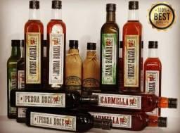 Whisky Caiçara - Cataia Natural ou Mel / Banana / Rapadura / Jatobá / Canela