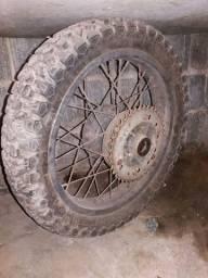 Pneu 4 60 17 rinald roda traseira dianteira xlx 350 R