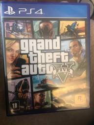 Jogo Grand Theft Auto V Premium Edition - GTA 5 - PS4 - VENDO ou TROCO