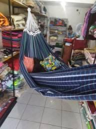 Rede de dormir jaguaruana feita fios de algodão