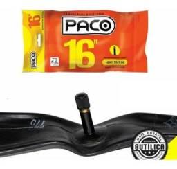 Câmara De Ar Infantil Bike Aro 16 X 1.75/1.90 Schrader 35mm Paco