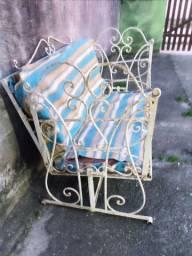 Cadeira Balanço de ferro