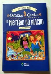 Livro . Detetive Cecilia e o Misterio do riacho/Luis Eduardo Matta