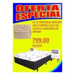Promoção relâmpago  cama box com colchão separado