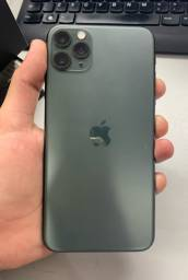 IPhone 11 Pro max verde meia noite com garantia