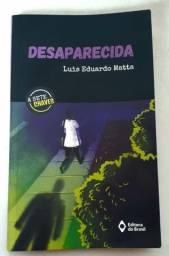 Livro Desaparecida. Luis Eduardo Matta
