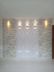 Aplicação de papel de parede