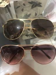 Vendo 2 óculos Original Tommy Hilfiger e Rayban