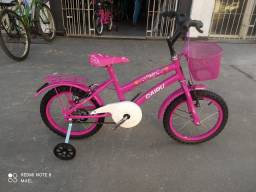 Bicicleta cairu aro 16  infantil