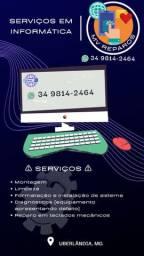 Ofereço serviços de informática