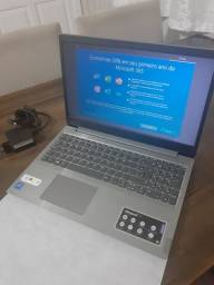 Notebook Lenovo tela 15.6 NOVO