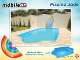 Piscina de Fibra 11.000 litros - 5,01 x 2,57 x 1,20