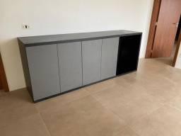Aparador Sala de Jantar com gavetas e espaço para adega embutida