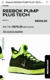 Tênis 38 Corrida Crossfit Reebok The Pump Plus Tech Running Original Unissex