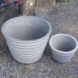 Vaso de cimento planta