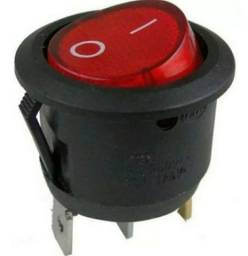 Chave Gangorra Redonda Kcd1- 106 3t Vermelha