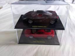 Eaglemoss Ferrari Enzo e Ferrari Itália escala 1:43