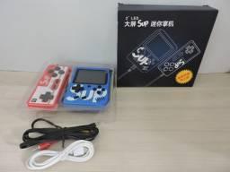 Super Game Portátil com 400 Jogos com Controle Extra e Cabo para ligar na TV