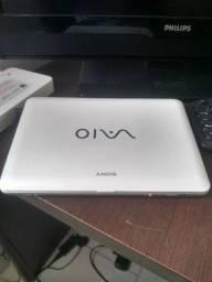 Netbook Sony Vaio troco por Tablet