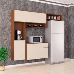 armário de parede com balcão
