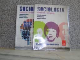 Livro de Sociologia Conceitos e Interação