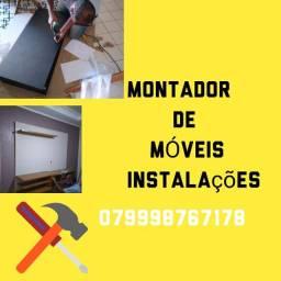 MONTADOR DE MÓVEIS instalar DESMONTAR