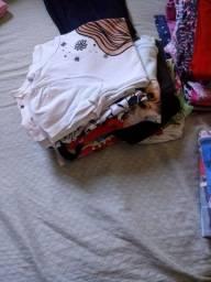 Lote de roupa menina