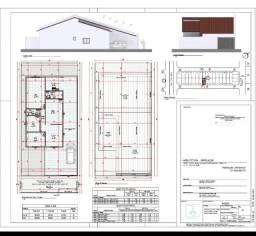 Casa ¾ de 143m² no lote de 200² com averbação para financiamento, no St. Estrela Dalva