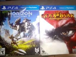 Dois Jogos de PS4 por 120 ou troco por outros jogos.