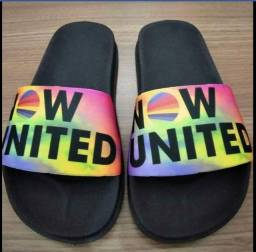 Título do anúncio: Chinelo Slide Now United Colorido
