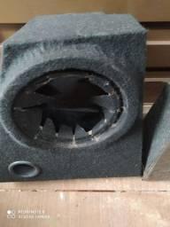 3 caixas de som pra alto falante de 12