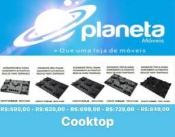 Fogão cooktop C/mega chama
