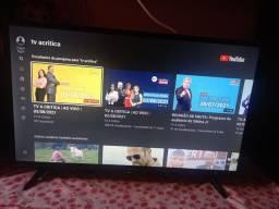 Tv smart, 32 polegadas semi nova 6 mês de uso com nota fiscal