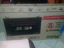 Smart tv Philco 4k borda infinita nunca usada