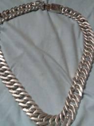 Cordão de prata grosso 400 gramas