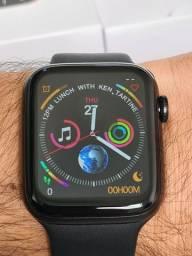 Relógio Inteligente Smartwatch IWO W46 Preto 44mm