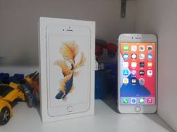 IPhone 6S Plus 64GB rose R$ 1.350,00. Parcelo no cartão.
