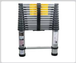 Escada telescópica de alumínio, 12 degraus, Vonder-