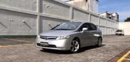 Honda Civic 1.8 LXS Automatico com GNV - Entrada + Parcelas Fixas em até 60 meses
