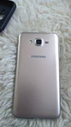 Samsung j7 com película e capinha
