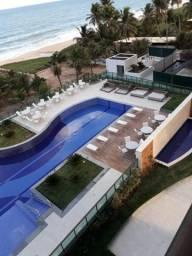 AP pé na areia com 114m2 em Guaxuma com estrutura de resorts p
