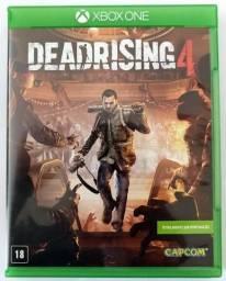 XBox One - DeadRising 3 e 4, Alien Isolation, Recore e DMC (preço unitário)