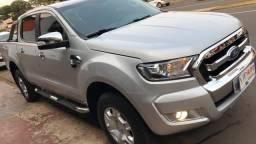 Ranger 2017 xlt 3.2 diesel automática com baixo retoque placa a novíssima - 2017